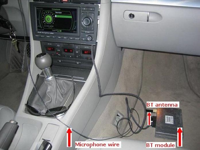 Audi Bluetooth Telephone Retrofit